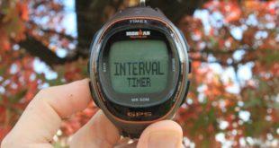 Intervalové běhání