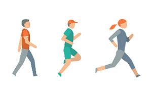 Chodit či běhat?